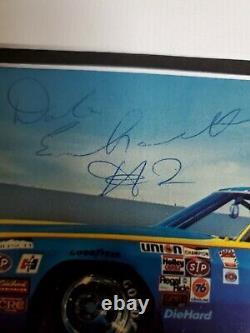 1979 Dale Earnhardt Sr Autographed Rookie Osterlund Wrangler #2 Signed P. Card