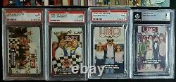 1983 Uno Racing Card Set With Richard Petty & Dale Earnhardt Rookie RC PSA 9 Mint