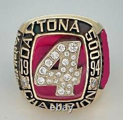 1994 Daytona 500 Racing Champions 10K GOLD Championship Ring NASCAR! Jostens
