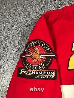 1995 Vintage JEFF GORDON #24 NASCAR Mens Racing Jacket XL Winston Cup Champion