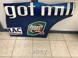 2003 Terry Labonte #5 Kellogg Got Milk Nascar Race Used Sheetmetal Rear Qtr