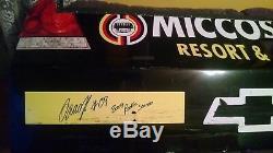 2009 Brad Keselowski Autographed #09 Miccosukee NASCAR Rookie Race Used Bumper