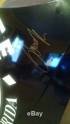 2009 Brad Keselowski Autographed #09 Miccosukee NASCAR Rookie Race Used Hood