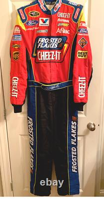 2012-13 Carl Edwards, Tony The Tiger, Frosted Flakes Race Used/worn Drivers Suit