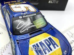 2014 Chase Elliott Homestead Raced Version Dual Autographed Elite 1/24 Diecast