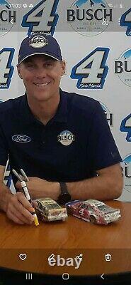 2014 Kevin Harvick Autographed 1/24 Homestead Raced Version Nascar Rare
