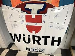 2019 Brad Keselowski #2 Nascar Race Used Sheet Metal Autographed Hood Penske