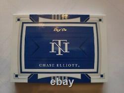 2020 National Treasures Nascar Racing Chase Elliott Logo Patch AUTO 1/1 Firesuit