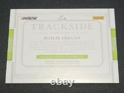 2020 Panini National Treasures Nascar Racing Hailie Deegan Auto 91/99 Trackside