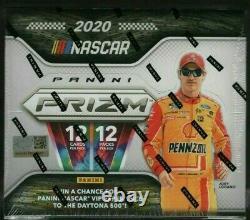 2020 Panini Prizm NASCAR Racing Factory Sealed Hobby Box NEW