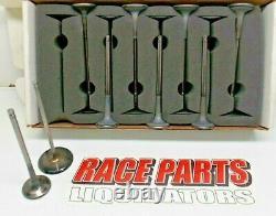 2.200 & 1.610 Titanium Valve Set Ro7 Chevy Race Nascar Del West Oval 042219-16