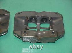 2 Alcon Racing Billet 4 Piston Pot Brake Calipers PC1001 L & R NASCAR Brembo RS2