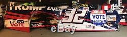 #32 Corey Lajoie Bristol Allstar Race Trump2020 Nascar Race Used Sheetmetal Side