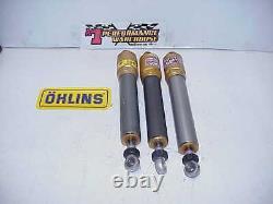 3 Ohlins NASCAR Aluminum Adjustable Smooth Body Racing Shocks For Parts J9