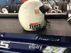 Alan Kulwicki 1989 Nascar Race Used Helmet/shoes Combo