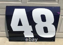 Alex Bowman 2020 Ally Race used door panel nascar sheetmetal #48