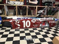 Aric Almirola Darlington Throwback Nascar Race Used Sheetmetal Gobowling Ford