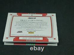 BRAD KESELOWSKI 2020 National Treasures 1/1 BOOKLET LOGO PATCH AUTO FIRESUIT
