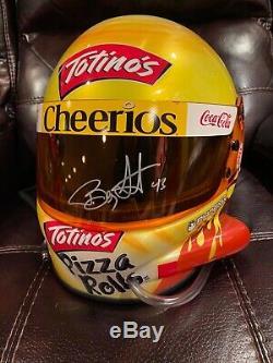 Bobby Labonte Race Used Worn Helmet Richard Petty NASCAR HOF Autographed