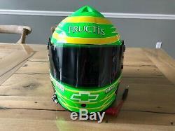 Brian Vickers NASCAR Race Used Worn Helmet Hendrick Motorsports Bell Cup Series