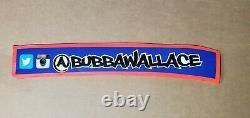 Bubba Wallace Jr Race Used NASCAR Sheet Metal Door Name Rail Very Rare