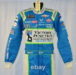 Bubba Wallace Petty Victory Junction Gang Race Used NASCAR DRIVER SUIT #6686