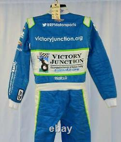 Bubba Wallace Petty Victory Junction Gang Race Used NASCAR DRIVER SUIT #6688