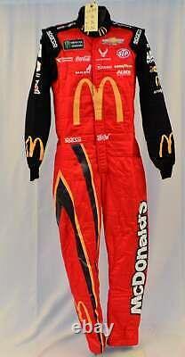 Bubba Wallace Richard Petty McDonald's Race Used NASCAR DRIVER SUIT #6689