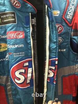 Bubba Wallace Richard Petty STP Rookie Nascar Race Used Drivers Firesuit