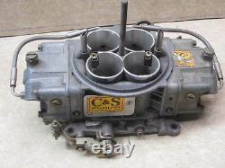 C&S 6 jet 800cfm Aerosol Billet Alcohol Carburetor Race Methanol IMCA NASCAR C S