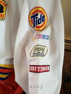 Chase Authentics Drivers Line Tide Racing NASCAR Button Jacket Size Adult XL