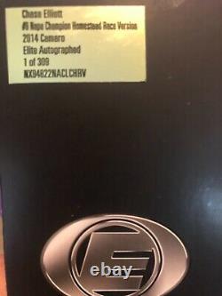 Chase Elliott 2014 Homestead Raced Version Dual Signed Rcca Elite NASCAR Diecast