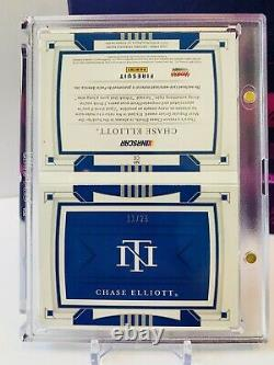 Chase Elliott 2020 National Treasures Race Used Firesuit Booklet NAPA LOGO