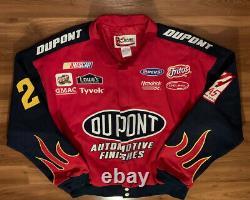 Chase Jeff Gordon NASCAR Racing Jacket DUPONT Vintage Coat Jacket Vtg 90s