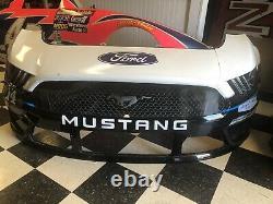 Clint Bowyer Peak Stewart Haas Nascar Race Used Sheetmetal 14 Nose