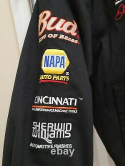 Dale Earnhardt Jr #8 Chase Authentics Racing Jacket Nascar Bud Weiser Mens XL
