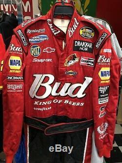 Dale Earnhardt Jr. DEI Budweiser Nextel Nascar Race Used Pit Crew Firesuit