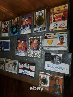Dale Earnhardt Sr Hand Signed Autographed Cards. Plus Certified Cards. 21 Total