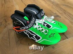 Danica Patrick Race Used Worn Shoes NASCAR Indycar GoDaddy