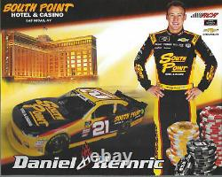 Daniel Hemric, 2018 Hand Signed, Race Used, Sparco Drivers Gloves, Rcr Racing