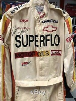 Darrell Waltrip 1990 Superflo Nascar Race Used Drivers Firesuit Autographed