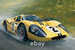 GT40 Race Car Hot Rod Lemans Sports Concept Dream Model Carousel YL f1 12gp1 24