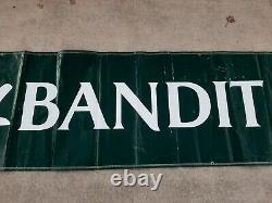 Harry Gant Skoal Bandit #33 Race Used Pit Road Wall Banner NASCAR Winston Cup