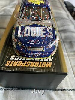 JIMMIE JOHNSON 2006 #48 LOWE'S DAYTONA 500 WIN RACED VERSION 1/24 Rare