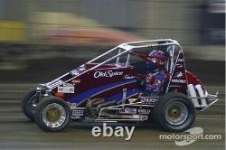 JJ Yeley Race Used Worn Helmet Chili Bowl 2005 Autograph NASCAR Not Sheet Metal