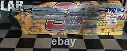 Jeff Burton #31 Caterpillar 2009 Nascar Race Used Sheet Metal Daytona 500 Side