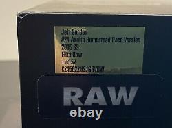 Jeff Gordon 2015 AXALTA HOMESTEAD FINAL RACED 1/24 ELITE RAW FINISH #47 of 57