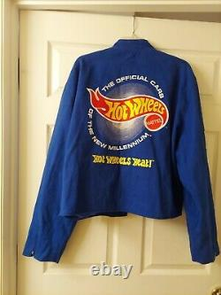 Jeff Hamilton Racing Collection Hot Wheels NASCAR Jacket XXL NICE Pre-owned cond