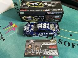 Jimmie Johnson 2013 Texas Win Raced Version Lowes 1/24 Action Nascar Diecast