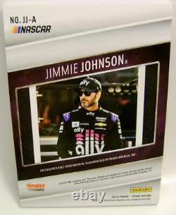 Jimmie Johnson #48 1/1 1 Of 1 Jumbo Patch Nascar Panini Prime Racing 2019 Rare